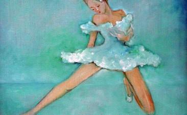 Repose - 45x50 cm -  Ballet
